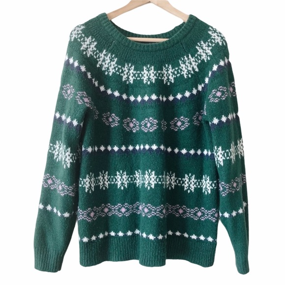 Sonoma Soft Winter Patterned Sweater
